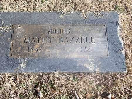 BAZZELL, MATTIE - Washington County, Arkansas | MATTIE BAZZELL - Arkansas Gravestone Photos