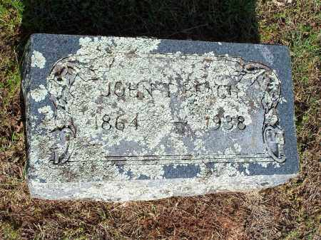 BEACH, JOHN T. - Washington County, Arkansas | JOHN T. BEACH - Arkansas Gravestone Photos