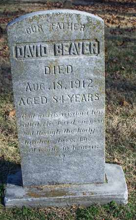 BEAVER, DAVID - Washington County, Arkansas | DAVID BEAVER - Arkansas Gravestone Photos