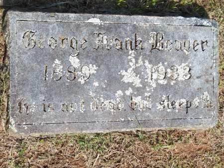 BEAVER, GEORGE FRANK - Washington County, Arkansas | GEORGE FRANK BEAVER - Arkansas Gravestone Photos