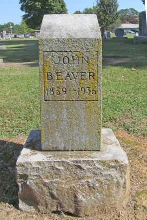 BEAVER, JOHN - Washington County, Arkansas | JOHN BEAVER - Arkansas Gravestone Photos