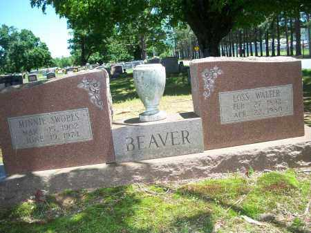 SWOPES BEAVER, MINNIE - Washington County, Arkansas | MINNIE SWOPES BEAVER - Arkansas Gravestone Photos