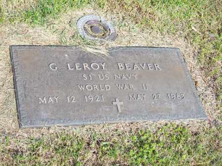 BEAVER (VETERAN WWII), G LEROY - Washington County, Arkansas | G LEROY BEAVER (VETERAN WWII) - Arkansas Gravestone Photos