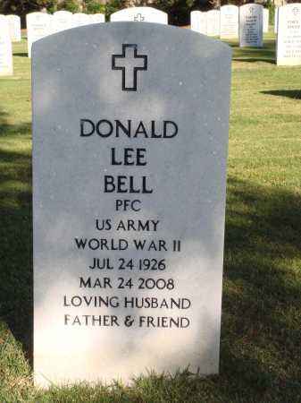 BELL  (VETERAN WWII), DONALD LEE - Washington County, Arkansas | DONALD LEE BELL  (VETERAN WWII) - Arkansas Gravestone Photos