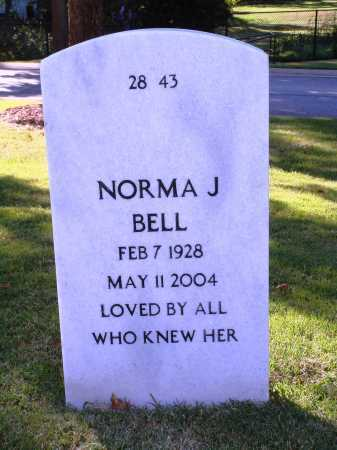 BELL, NORMA J. - Washington County, Arkansas | NORMA J. BELL - Arkansas Gravestone Photos