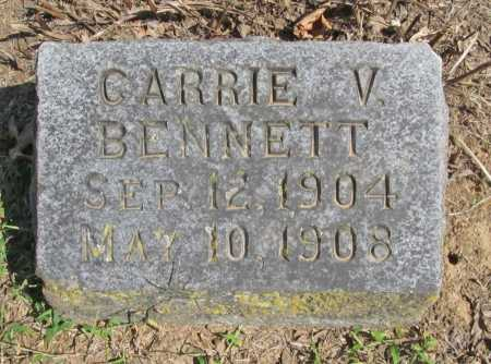 BENNETT, CARRIE V. - Washington County, Arkansas | CARRIE V. BENNETT - Arkansas Gravestone Photos