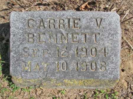 BENNETT, CARRIE V. - Washington County, Arkansas | CARRIE V. BENNETT - Arkansas Gravestone Photos