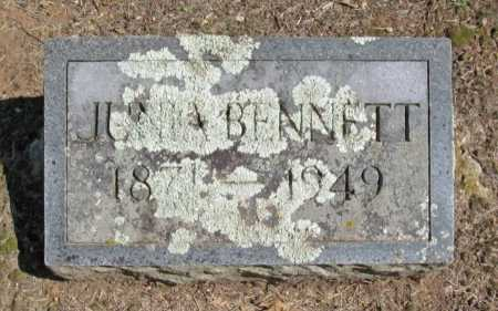 BENNETT, JUNIA - Washington County, Arkansas | JUNIA BENNETT - Arkansas Gravestone Photos