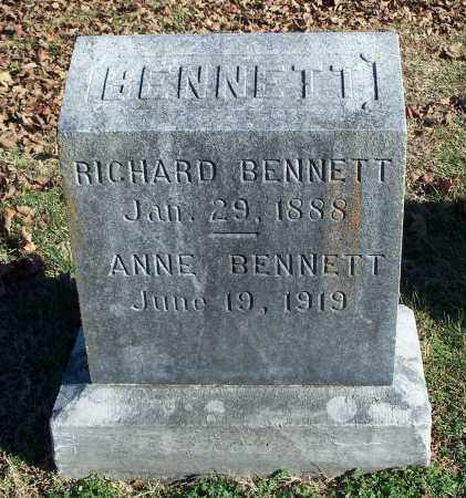 BENNETT, ANNE - Washington County, Arkansas | ANNE BENNETT - Arkansas Gravestone Photos