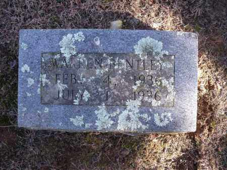 BENTLEY, WARREN - Washington County, Arkansas | WARREN BENTLEY - Arkansas Gravestone Photos