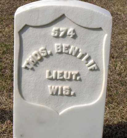 BENTLIF (VETERAN UNION), THOMAS - Washington County, Arkansas | THOMAS BENTLIF (VETERAN UNION) - Arkansas Gravestone Photos