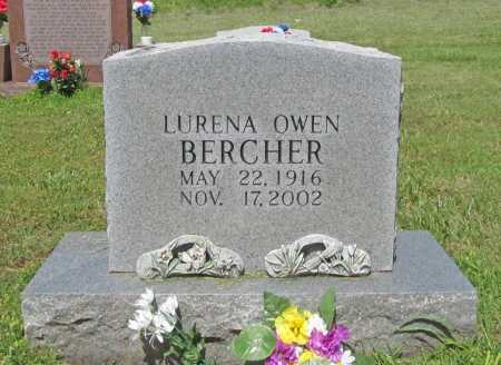 BERCHER, LURENA OWEN - Washington County, Arkansas | LURENA OWEN BERCHER - Arkansas Gravestone Photos