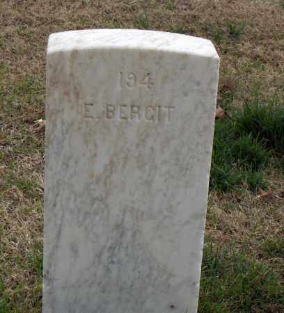 BERGIT (VETERAN), E - Washington County, Arkansas | E BERGIT (VETERAN) - Arkansas Gravestone Photos