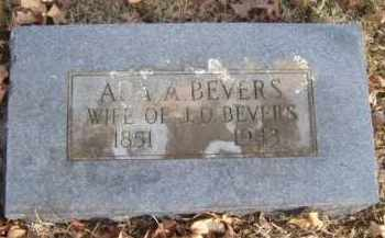 BEVERS, ADA A. - Washington County, Arkansas | ADA A. BEVERS - Arkansas Gravestone Photos