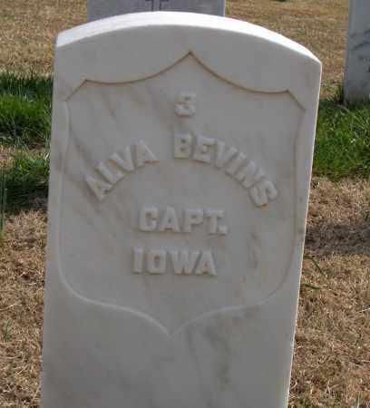 BEVINS (VETERAN UNION), ALVA - Washington County, Arkansas | ALVA BEVINS (VETERAN UNION) - Arkansas Gravestone Photos