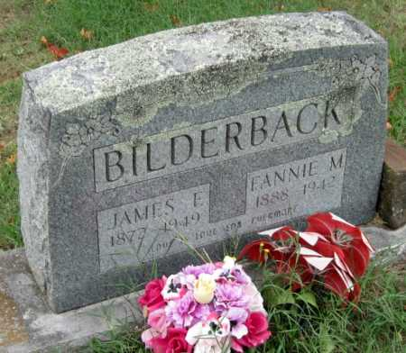 BILDERBACK, FANNIE M. - Washington County, Arkansas | FANNIE M. BILDERBACK - Arkansas Gravestone Photos