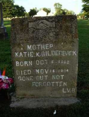 BILDERBACK, KATIE K. - Washington County, Arkansas | KATIE K. BILDERBACK - Arkansas Gravestone Photos