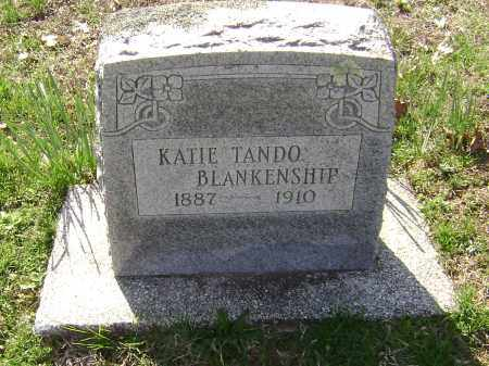 TANDO BLANKENSHIP, KATIE - Washington County, Arkansas | KATIE TANDO BLANKENSHIP - Arkansas Gravestone Photos