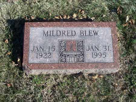 SHREVE BLEW, MILDRED - Washington County, Arkansas | MILDRED SHREVE BLEW - Arkansas Gravestone Photos