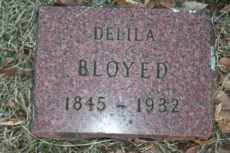 BLOYED, DELILA - Washington County, Arkansas | DELILA BLOYED - Arkansas Gravestone Photos