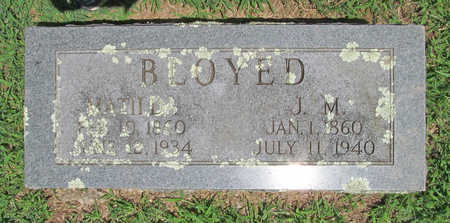 BLOYED, MATILDA - Washington County, Arkansas | MATILDA BLOYED - Arkansas Gravestone Photos
