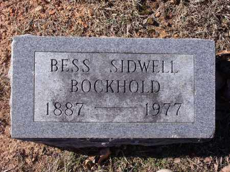 BOCKHOLD, BESS - Washington County, Arkansas | BESS BOCKHOLD - Arkansas Gravestone Photos