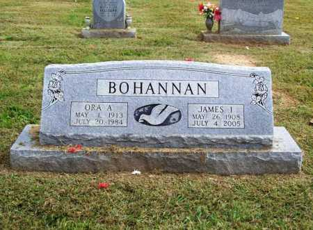 BOHANNAN, ORA A. - Washington County, Arkansas | ORA A. BOHANNAN - Arkansas Gravestone Photos