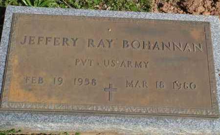 BOHANNAN  (VETERAN), JEFFERY RAY - Washington County, Arkansas | JEFFERY RAY BOHANNAN  (VETERAN) - Arkansas Gravestone Photos