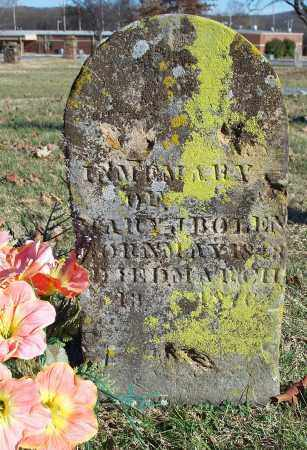BOLEN, MARY J. - Washington County, Arkansas | MARY J. BOLEN - Arkansas Gravestone Photos