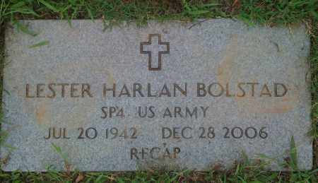 "BOLSTAD  (VETERAN), LESTER HARLAN ""RECAP"" - Washington County, Arkansas 