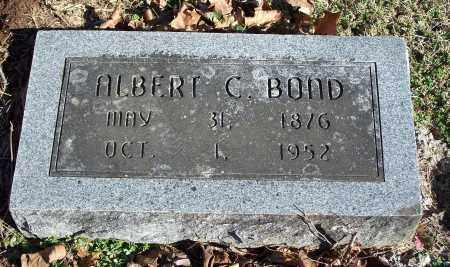 BOND, ALBERT C. - Washington County, Arkansas | ALBERT C. BOND - Arkansas Gravestone Photos