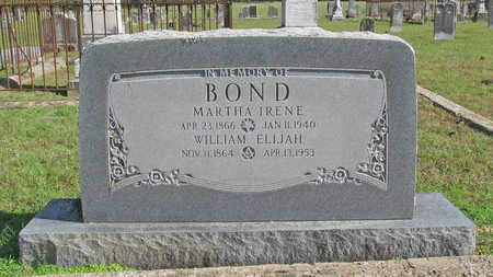 BOND, WILLIAM ELIJAH - Washington County, Arkansas | WILLIAM ELIJAH BOND - Arkansas Gravestone Photos
