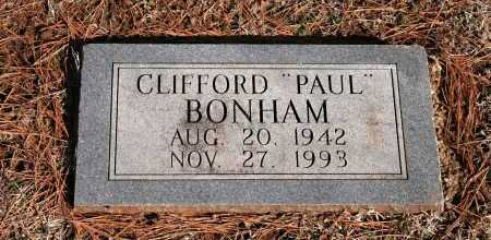 "BONHAM, CLIFFORD ""PAUL"" - Washington County, Arkansas 
