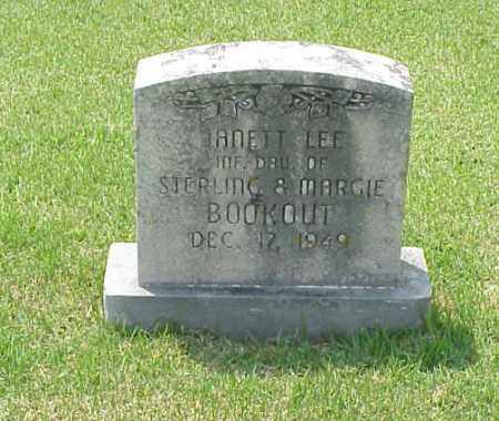 BOOKOUT, JANETT LEE - Washington County, Arkansas | JANETT LEE BOOKOUT - Arkansas Gravestone Photos