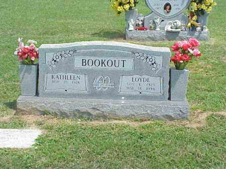 BOOKOUT, LOYDE - Washington County, Arkansas | LOYDE BOOKOUT - Arkansas Gravestone Photos