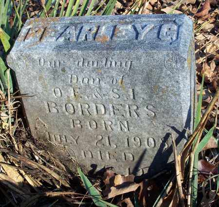 BORDERS, PEARLEY G. - Washington County, Arkansas | PEARLEY G. BORDERS - Arkansas Gravestone Photos