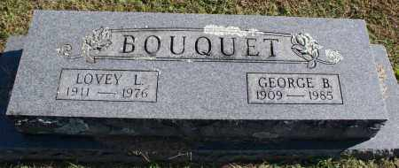 BOUQUET, GEORGE B. - Washington County, Arkansas | GEORGE B. BOUQUET - Arkansas Gravestone Photos