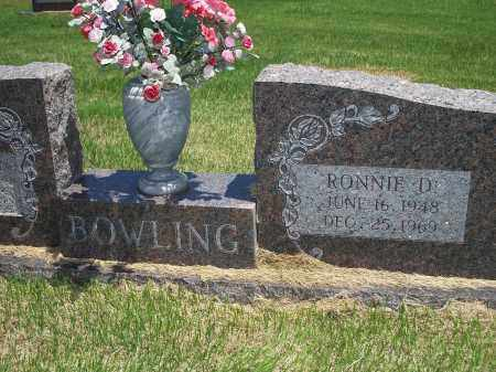 BOWLING, RONNIE D. - Washington County, Arkansas | RONNIE D. BOWLING - Arkansas Gravestone Photos
