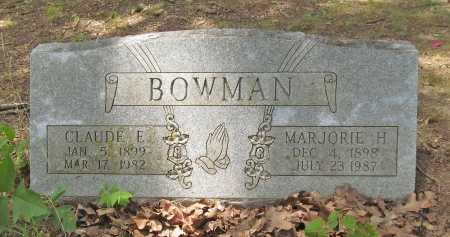 BOWMAN, MARJORIE - Washington County, Arkansas | MARJORIE BOWMAN - Arkansas Gravestone Photos