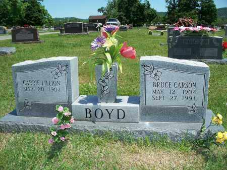 BOYD, BRUCE CARSON - Washington County, Arkansas | BRUCE CARSON BOYD - Arkansas Gravestone Photos