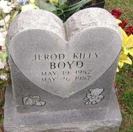 BOYD, JEROD KILEY - Washington County, Arkansas | JEROD KILEY BOYD - Arkansas Gravestone Photos