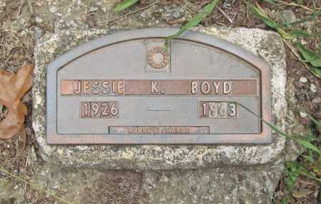BOYD, JESSIE K. - Washington County, Arkansas | JESSIE K. BOYD - Arkansas Gravestone Photos