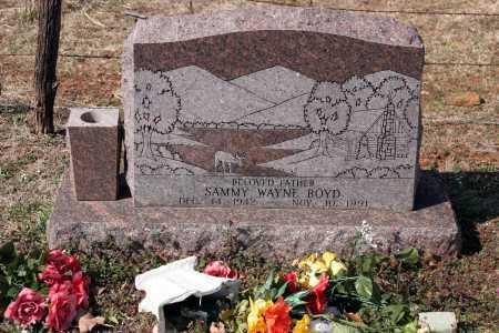BOYD, SAMMY WAYNE - Washington County, Arkansas | SAMMY WAYNE BOYD - Arkansas Gravestone Photos