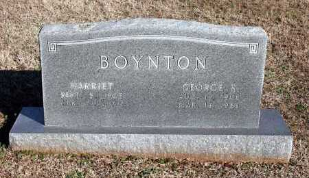 BOYNTON, GEORGE R. - Washington County, Arkansas | GEORGE R. BOYNTON - Arkansas Gravestone Photos