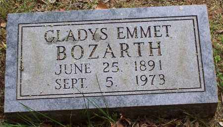 EMMET BOZARTH, GLADYS - Washington County, Arkansas | GLADYS EMMET BOZARTH - Arkansas Gravestone Photos