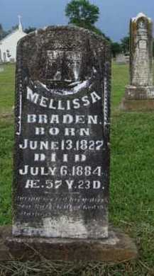 BRADEN, MELLISSA - Washington County, Arkansas | MELLISSA BRADEN - Arkansas Gravestone Photos