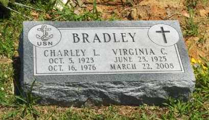 BRADLEY (VETERAN), CHARLEY L - Washington County, Arkansas | CHARLEY L BRADLEY (VETERAN) - Arkansas Gravestone Photos