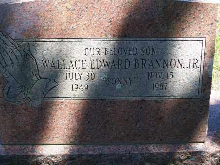 BRANNON, WALLACE EDWARD, JR. - Washington County, Arkansas | WALLACE EDWARD, JR. BRANNON - Arkansas Gravestone Photos