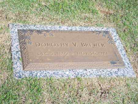 BREWER, DOROTHY V. - Washington County, Arkansas | DOROTHY V. BREWER - Arkansas Gravestone Photos