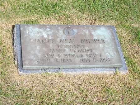 BREWER (VETERAN 2 WARS), JAMES NEAL - Washington County, Arkansas | JAMES NEAL BREWER (VETERAN 2 WARS) - Arkansas Gravestone Photos